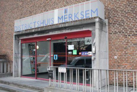 PhotoBooth in Merksem, Burgemeester Jozef Nolfplein 1, Districtshuis